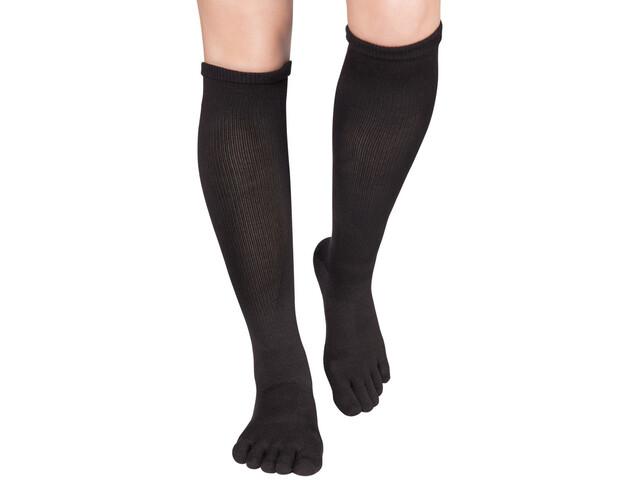 Knitido Asymmetric Compression TS 2.0 Running Socks black/inside black